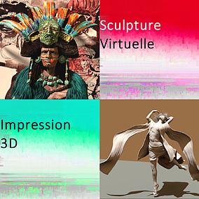 Picto Sculpture Virtuelle 3D